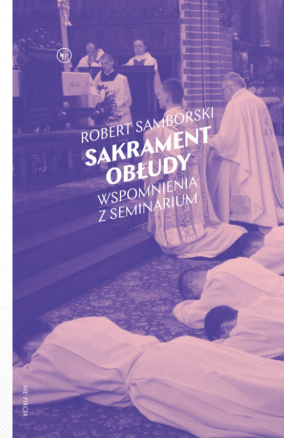 okładka Sakrament obłudyebook   epub, mobi   Robert Samborski