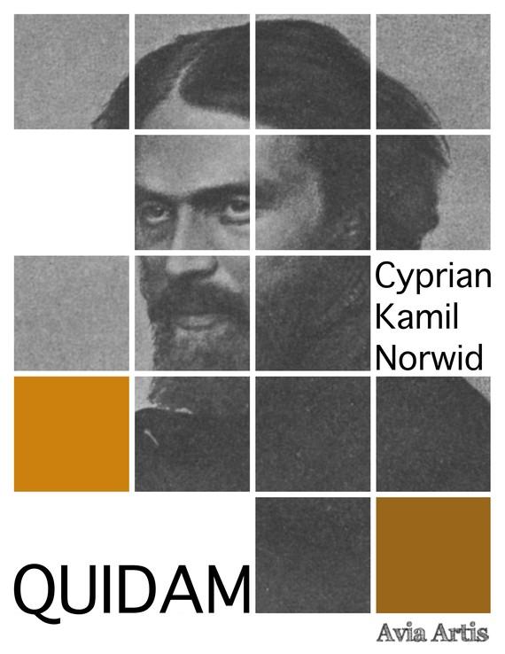 okładka Quidamebook | epub, mobi | Cyprian Kamil Norwid