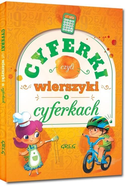 okładka Cyferki czyli wierszyki o cyferkachksiążka      Urszula Kamińska