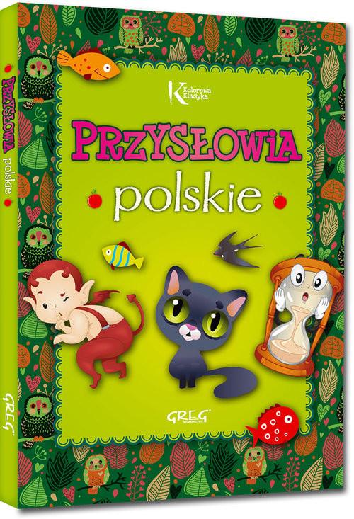 okładka Przysłowia polskieksiążka      Strzeboński Grzegorz