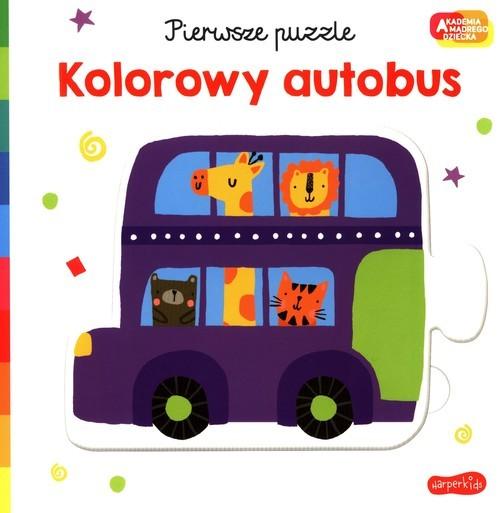 okładka Pierwsze puzzle Kolorowy autobusksiążka |  |