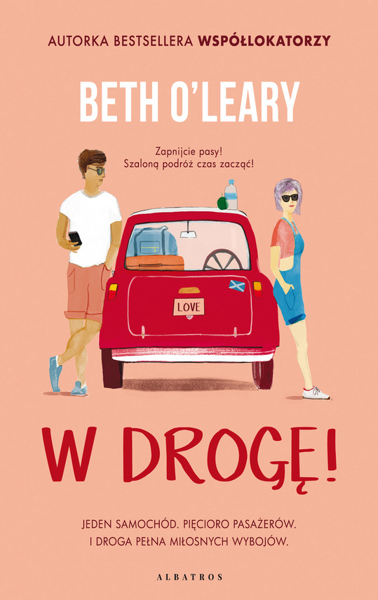 okładka W DROGĘ!ebook   epub, mobi   Beth O'Leary