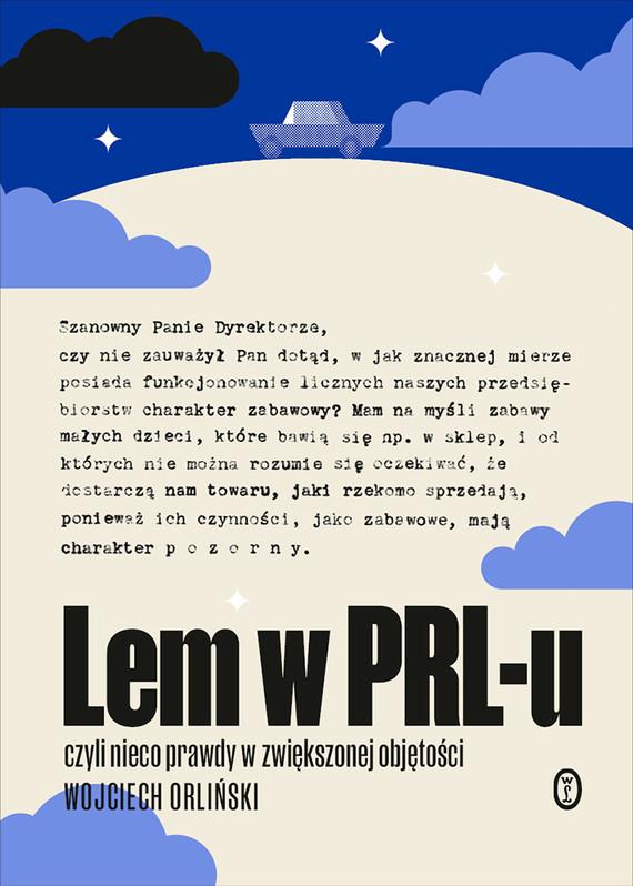 okładka Lem w PRL-uebook | epub, mobi | Wojciech Orliński