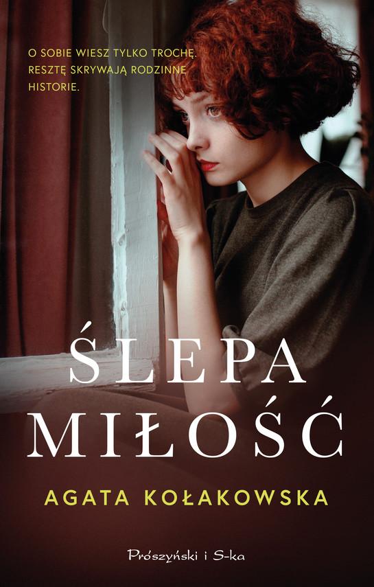 okładka Ślepa miłośćebook   epub, mobi   Agata Kołakowska