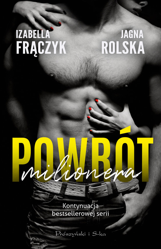 okładka Powrót milioneraebook | epub, mobi | Jagna Rolska, Izabella Frączyk