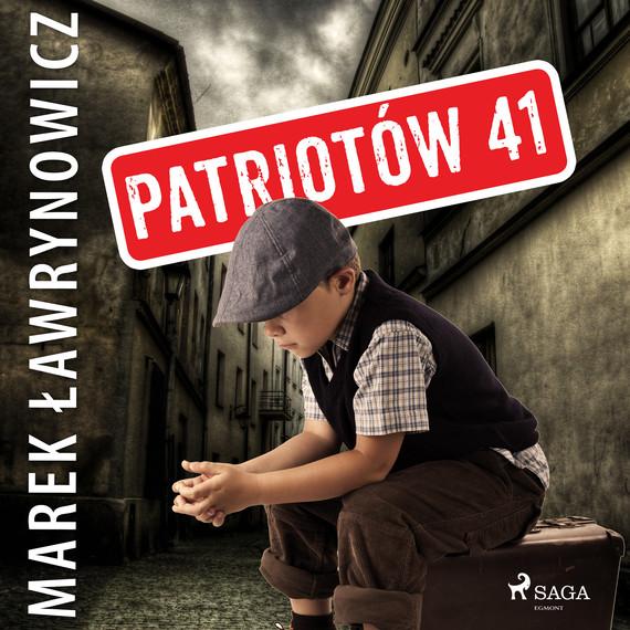 okładka Patriotów 41audiobook   MP3   Marek Ławrynowicz