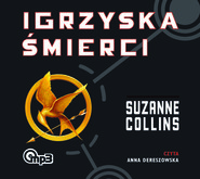 okładka Igrzyska śmierci, Audiobook | Suzanne Collins