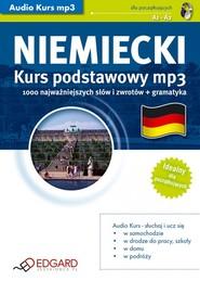 okładka Niemiecki Kurs podstawowy. Audiobook | MP3 | autor zbiorowy