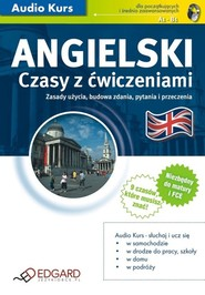 okładka Angielski Czasy z ćwiczeniami. Audiobook | autor zbiorowy