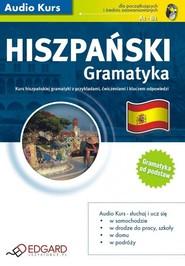okładka Hiszpański Gramatyka. Audiobook | papier | autor zbiorowy