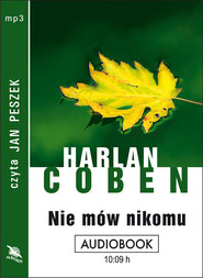 okładka NIE MÓW NIKOMU. Audiobook | MP3 | Harlan Coben