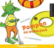 okładka Pompon na wakacjach. Audiobook | MP3 | Joanna Olech