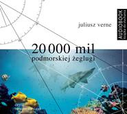 okładka 20 000 mil podmorskiej żeglugi. Audiobook   MP3   Juliusz Verne