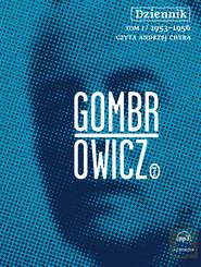 okładka Dziennik t.1 - audiobook. Audiobook | papier | Witold Gombrowicz