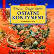 okładka Ostatni kontynent. Audiobook | MP3 | Terry Pratchett