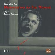 okładka Morderstwo na Rue Morgue. Audiobook | papier | Edgar Allan Poe
