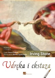 okładka Udręka i ekstaza. Audiobook | papier | Irving Stone