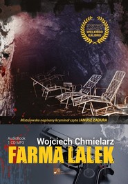 okładka Farma lalek. Audiobook | MP3 | Wojciech Chmielarz