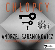 okładka Chłopcy. Audiobook | papier | Andrzej Saramonowicz