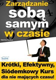 okładka Zarządzanie sobą samym w czasie. Audiobook | MP3 | Iwona Kubis