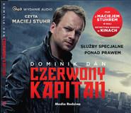 okładka Czerwony kapitan. Audiobook | papier | Dominik Dan