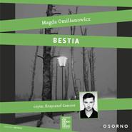 okładka Bestia. Studium zła. Audiobook | MP3 | Magda Omilianowicz