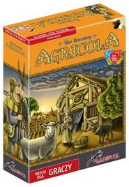 okładka Agricola wersja dla graczy, Książka | Uwe Rosenberg