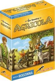 okładka Agricola wersja rodzinna, Książka | Uwe Rosenberg