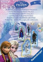 okładka W podróż do lodowego pałacu Gra Kraina Lodu, Książka |
