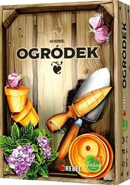 okładka Ogródek, Książka | Uwe Rosenberg