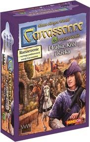 okładka Carcassonne Hrabia Król i Rzeka 6 rozszerzenie do drugiej edycji najpopularniejszej gry kafelkowej, Książka | Wrede Klaus-Jurgen