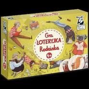 okładka Gra Loteryjka Rodzinka 4+, Książka |