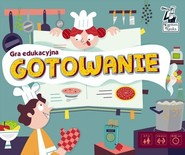 okładka Kapitan Nauka Gra edukacyjna Gotowanie, Książka |