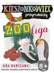 okładka Kieszonkowiec przyrodniczy Zoo liga (8+), Książka | Małgorzata Pazik, Patrycja Zakaszewska