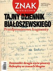 okładka Miesięcznik Znak, numer 681 (luty 2012), Książka  