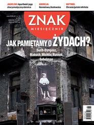 okładka Miesięcznik Znak, numer 685 (czerwiec 2012), Książka  