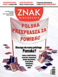 okładka Miesięcznik Znak, numer 686-687 (lipiec-sierpień 2012), Książka  