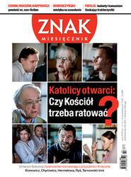 okładka Miesięcznik Znak, numer 689 (październik 2012), Książka  