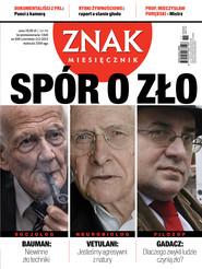okładka Miesięcznik Znak, numer 690 (listopad 2012), Książka  
