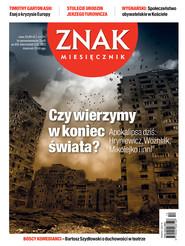 okładka Miesięcznik Znak, numer 691 (grudzień 2012), Książka  