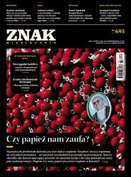 """okładka Miesięcznik """"ZNAK"""", kwiecień 2013, nr 695, Książka  """
