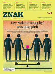 """okładka Miesięcznik """"ZNAK"""", czerwiec 2013, nr 697, Książka  """