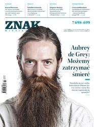 """okładka Miesięcznik """"ZNAK"""", lipiec-sierpień 2013, nr 698-699, Książka  """