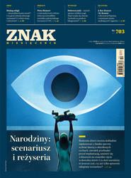 """okładka Miesięcznik """"ZNAK"""", grudzień 2013, nr 703, Książka  """