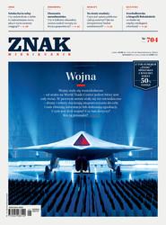 """okładka Miesięcznik """"ZNAK"""", styczeń 2014, nr 704, Książka  """
