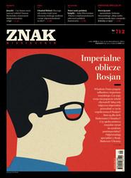 """okładka Miesięcznik """"ZNAK"""", wrzesień 2014, nr 712, Książka  """