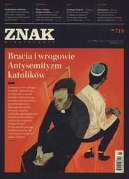 """okładka Miesięcznik """"ZNAK"""", kwiecień 2015, nr 719, Książka  """