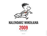 okładka Kalendarz Mikołajka 2009, Książka | René Goscinny, Jean-Jacques Sempé
