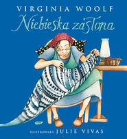 okładka Niebieska zasłona, Książka | Virginia Woolf