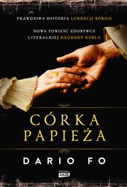 okładka Córka papieża. Książka | papier | Fo Dario